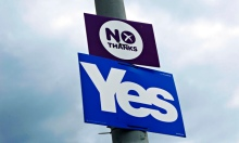 Yes and no thanks signs scotland