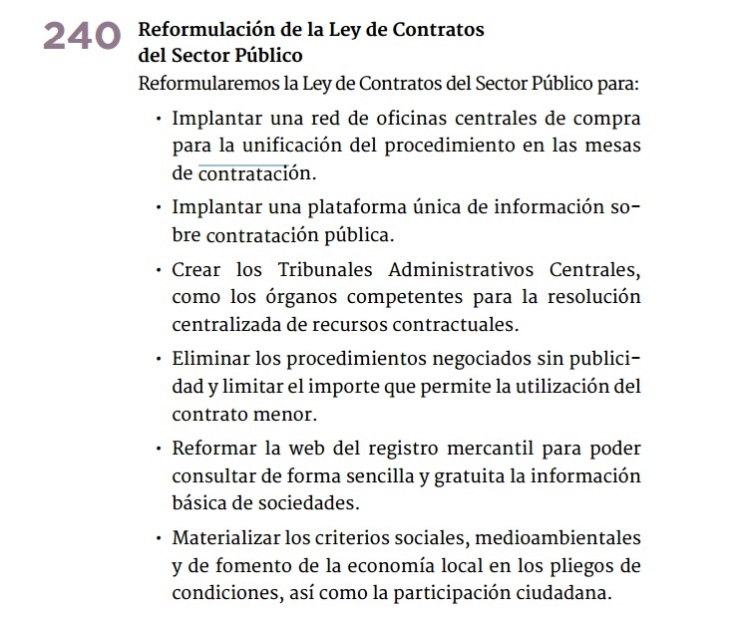 Programa de Podemos